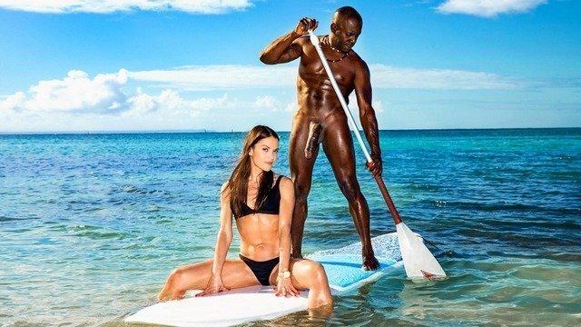 Порно видео онлайн на острове