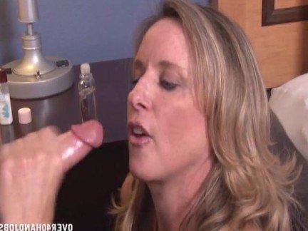 Хозяйка секс мужа секретарь чулках белом диване
