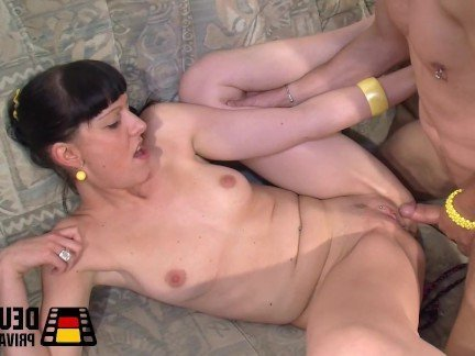 Секс С Немкой Брюнеткой