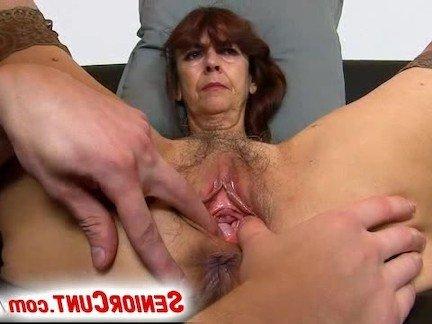 Порно с старухами с большими пиздами видео